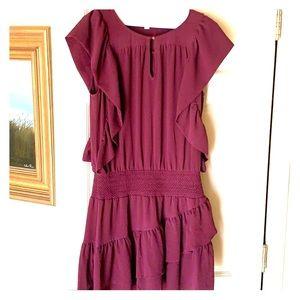 Ella Moss sleeveless ruffled dress